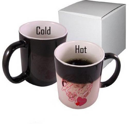 Color Change Personalized Mug Magic Mug With A Photo Or Logo