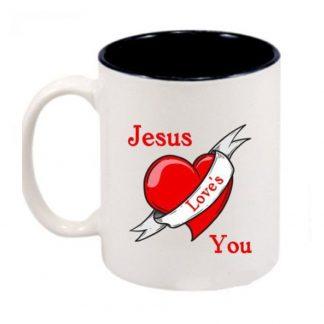 Jesus Love S You Ceramic Mug Marvelous Printing