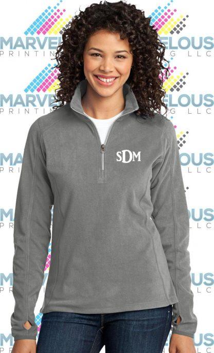Ladies Microfleece 1/2-Zip Pullover